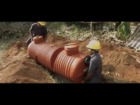 How to Install Ocean Plastic Septic Tank