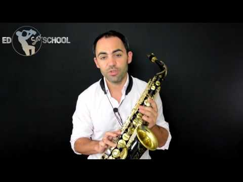 Definitive Altissimo Fingerings for Alto Sax with George Michael's sax player, Ed Barker