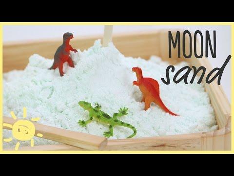 DIY   Kinetic Sand/Cloud Dough (Perfect Recipe!)