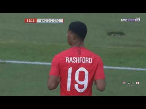 England 2-0 Costa Rica / Friendliest National (07/06/2018)
