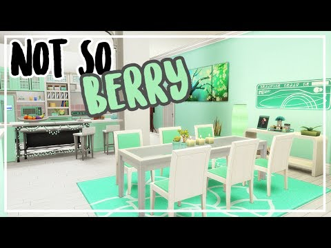 NOT SO BERRY APARTMENT + CC List 🌿 Mint 🌿 Sims 4 Speed Build
