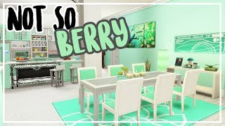 The Sims 4: Speed Build for the Not So Berry Challenge