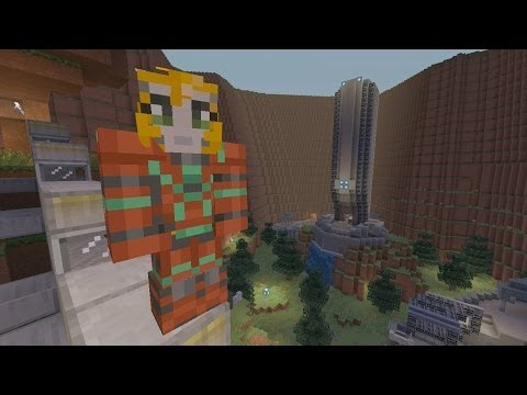 Minecraft Xbox - Halo Hunger Games