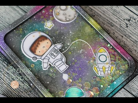 MFT Birdie Brown Space Explorer Shaker Cards