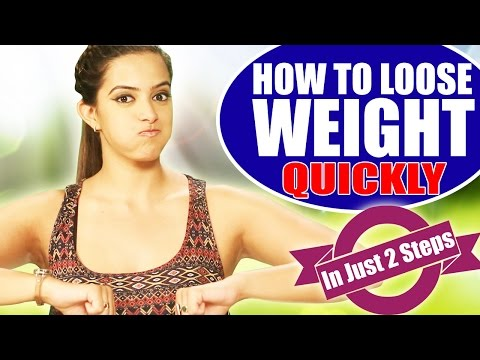 How To Lose Weight Quickly - Homemade Remedies In Just 2 Easy Steps!