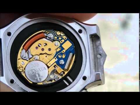 How To Remove Winder from Tag Heuer ETA Movement E03.001