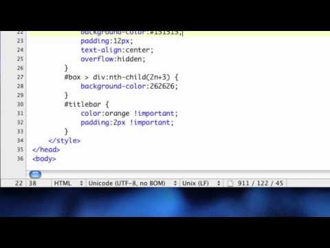 CSS Background Opacity