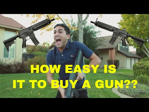 Are Gun Laws in America strict enough? ( A California Prop 63 Skit )