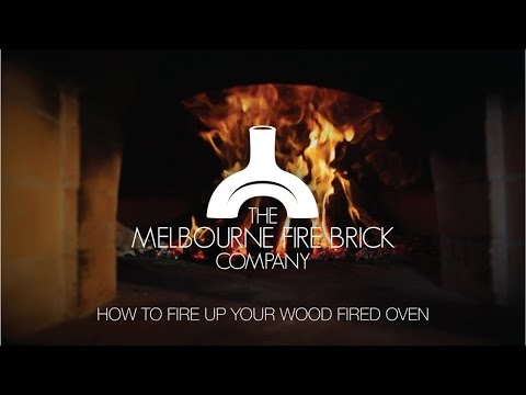 How To Fire Up Your Wood Fired Pizza Oven