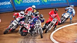 Finals Open Category | III Superprestigio Dirt Track - Barcelona 2015(UHD/4K)
