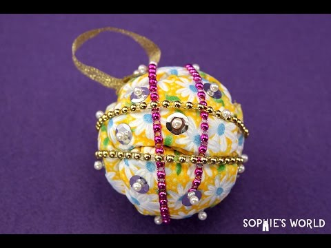 How to Make Foam Christmas Ornaments | Sophie's World