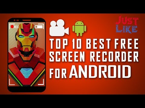 TOP 10 Best Free Screen Recorder for Android Smartphone