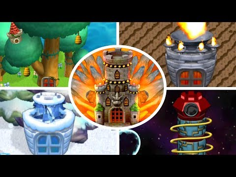 Newer Super Mario Bros Wii - All Tower Levels