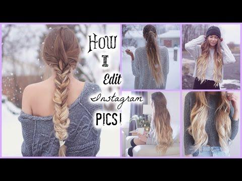 How I Edit My Instagram Pics // Tumblr Inspired