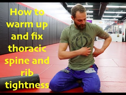 How To Fix Thoracic Spine and Rib Tightness