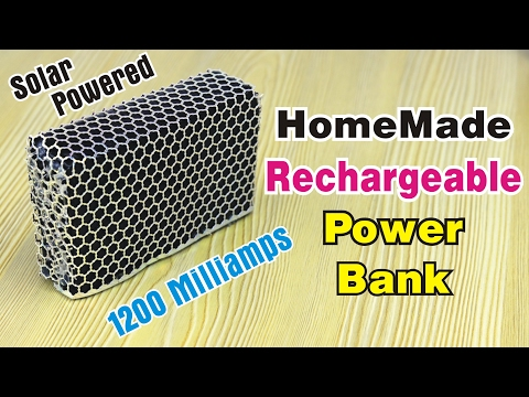 How to Make Rechargeable Power Bank For Mobile at Home. Homemade Power Bank