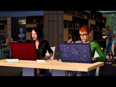 The Sims 3 Town Life Stuff - video