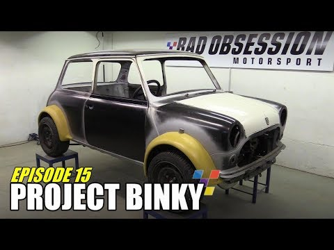 Project Binky - Episode 15 - Austin Mini GT-Four - Turbocharged 4WD Mini