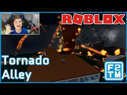 FIRE TORNADO IN MY ROOM!!! Roblox Tornado Alley