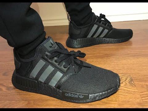 Adidas NMD Triple Black ⚫️⚫️⚫️ on feet review