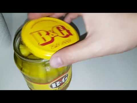 How to Easily Open Up a Jar of Pickles (EASY!!)