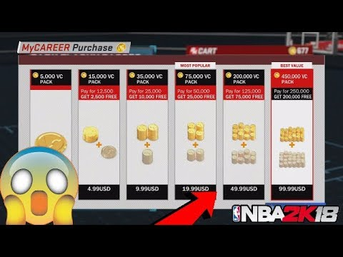 NBA 2K18 VC GLITCH FASTEST WAY TO GET VC FREE NBA 2K18 BEST METHOD