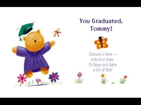 Printable Graduation Cards Idea
