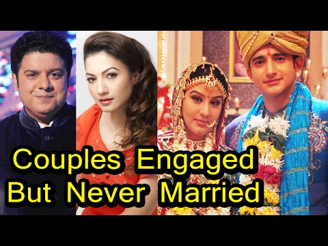 Celebrity Couples Who Engaged But Never Got Married