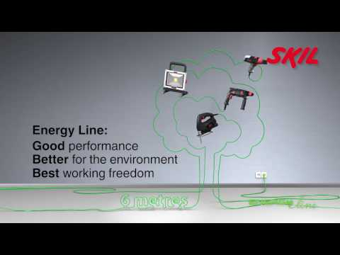 'Energy Line': good performance, better for the environment, best working freedom