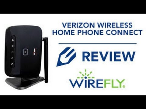 Verizon Wireless Home Phone Connect Explanation and Installation