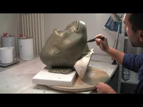 Animatronics tutorial - Chapter 3 - Making the fiberglass mold