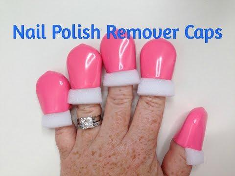 Gel Nail Polish Soak Off Remover Caps