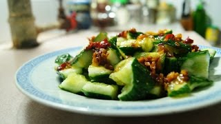 Fast Chinese Cucumber Salad