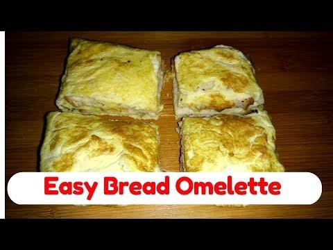Easy Bread Omelette Recipe | Bread Omelet | Easy Breakfast | Raji's Kitchen