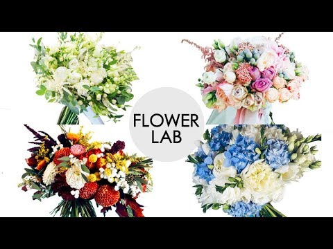 TOP 5 Wedding Bouquets! How to make a Wedding Bouquet! 5 Bouquets in 5 Minutes DIY