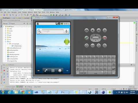 Android Project in IntelliJ IDEA Part 2