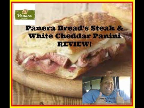 Panera Bread's® Steak & White Cheddar Panini REVIEW!