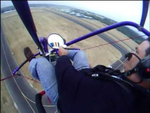 Powered Parachute Solo - what it's like