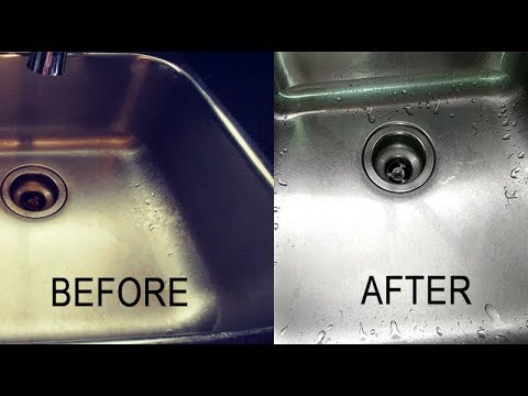 How to Clean The Kitchen Sink with Baking Soda | Kitchen Life Hacks