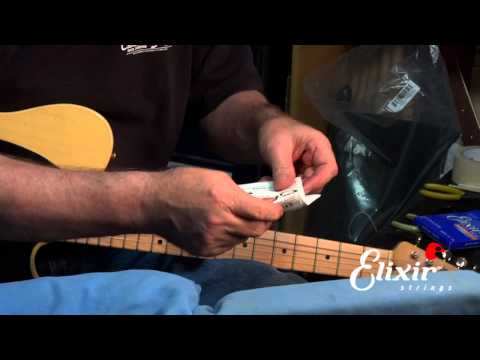 How to restring your Telecaster with John Carruthers