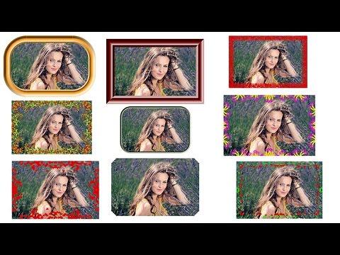 #82 Picture  Photo Frame border Adobe Photoshop