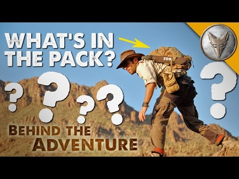 What's in Coyote's Backpack?