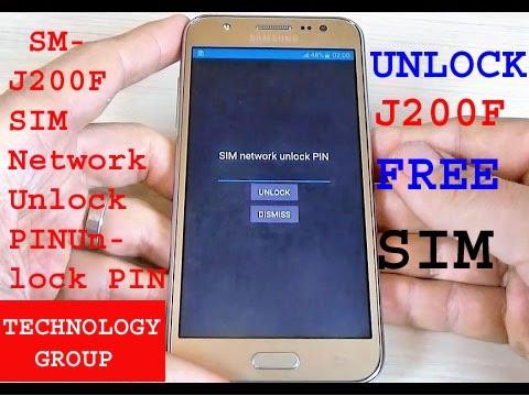 How To Unlock Samsung Galaxy J200f SIM Network Unlock PIN Steps  J1, J1 Pop, , J2, J3, J5 J7