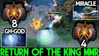 Miracle- [Gyrocopter] Return of The King MMR Game is Over 7.21 Dota 2