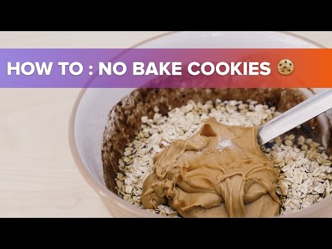 How To: No Bake Cookies