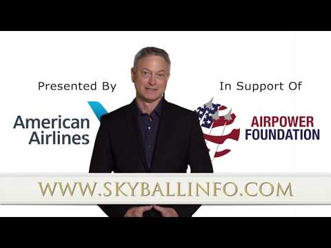 American Airlines Sky Ball XV PSA with Gary Sinise