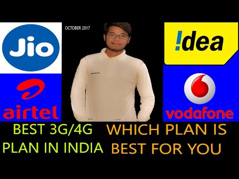 Best 4G data packs |Jio, Airtel, Vodafone,  Idea recharge plan | offers for prepaid, Postpaid users.
