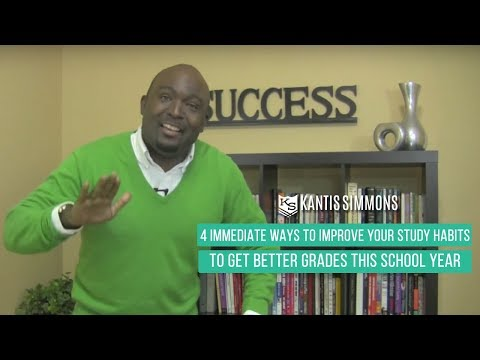 How to Better Your Study Habits and Get Good Grades in School -  Kantis Simmons