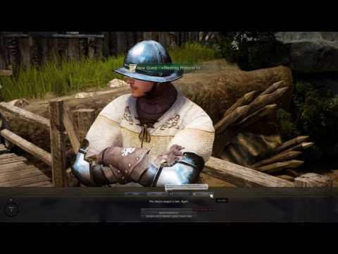 Black Desert Online Gameplay Episode 1 4K Resolution (Leveling Maehwa Class)