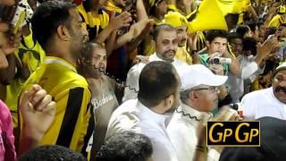 صالح القرنى الا ياطير يااصفر و شيلوها شيله فى مباراة الاتحاد والهلال فى اياب كاس الملك 2011
